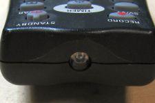 Eine alte Fernbedieung liefert die IR-Diode