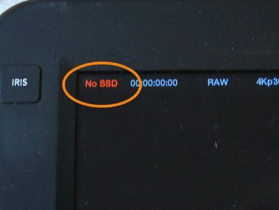 Das Problem - die SSD wird nicht mehr erkannt.