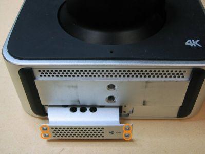 Als Erstes wird der Ventilator ausgebaut.